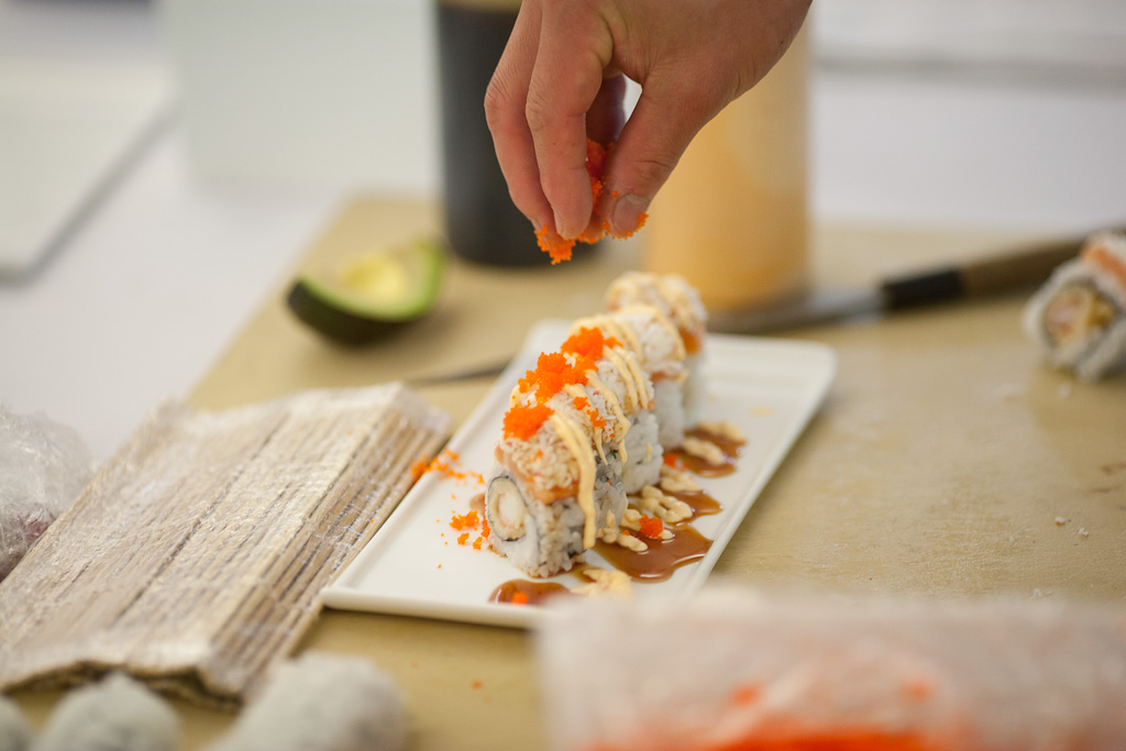 Linkedin-Team-Building-Sushi-Class-5