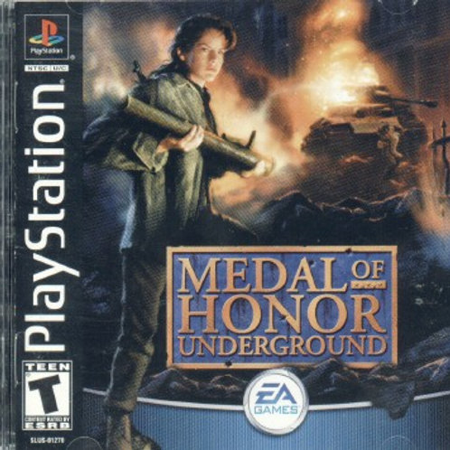 Medal Of Honor Underground (Playstation 1 game)