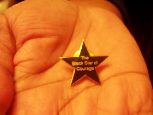 THE BLACK STAR OF COURAGE