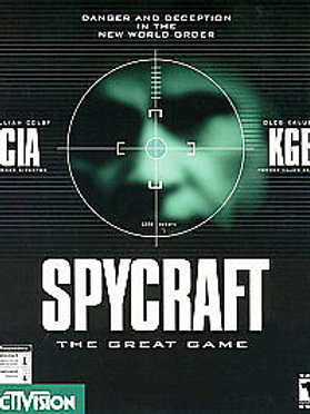 SPYCRAFT: THE GREAT GAME - WINDOWS 95