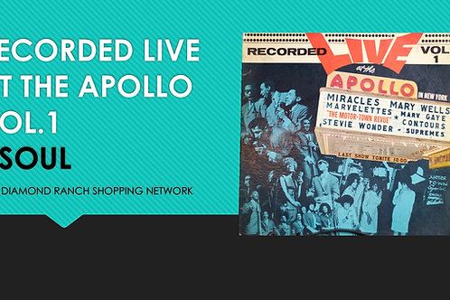 RECORDED LIVE AT THE APOLLO VOL.1
