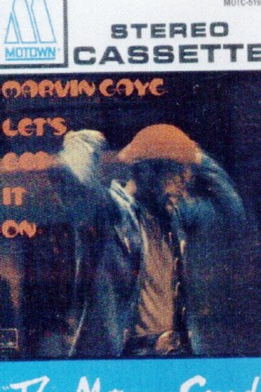 Marvin Gaye Let's get it on-CASSETTE