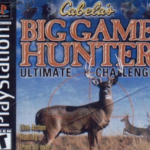Big Game Hunter (Playstation 1 Game)