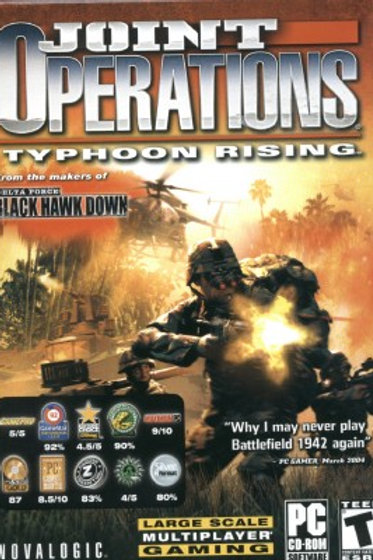 JOINT OPERATIONS/Typhoon Rising-PC SOFTWARE