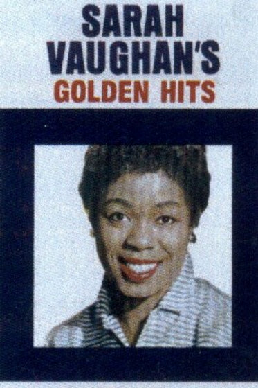 Sarah Vaughan's Golden hits- CASSETTE