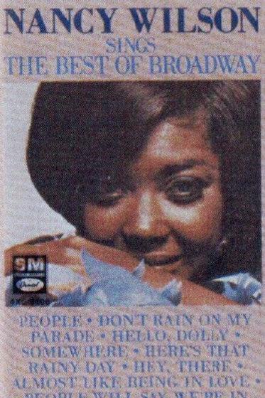 Nancy Wilson Sings the best of broadway-CASSETTE
