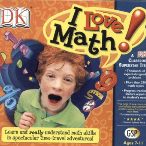 I LOVE MATH-PC