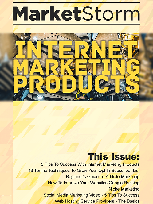 INTERNET MARKETING PRODUCTS