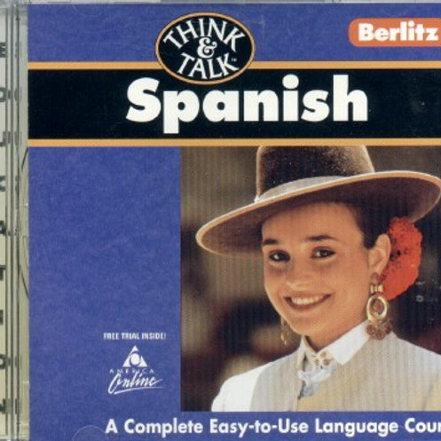 Think and Talk Spanish- Complete Easy-To-Use Lang.