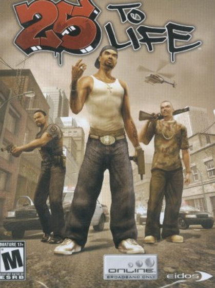 25 TO LIFE- PLAYSTATION 2