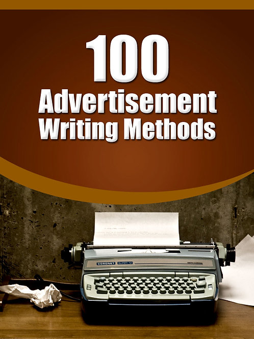 100AdvertisementWritingMethods