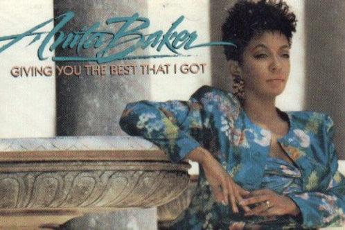 Anita Baker Giving you the best-CASSETTE