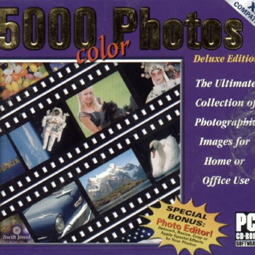 5000 Color Photos (XP Compatable) Deluxe Edition