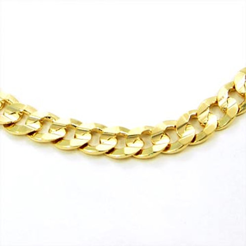 30IN 8MM CUBAN CHAIN-GOLD