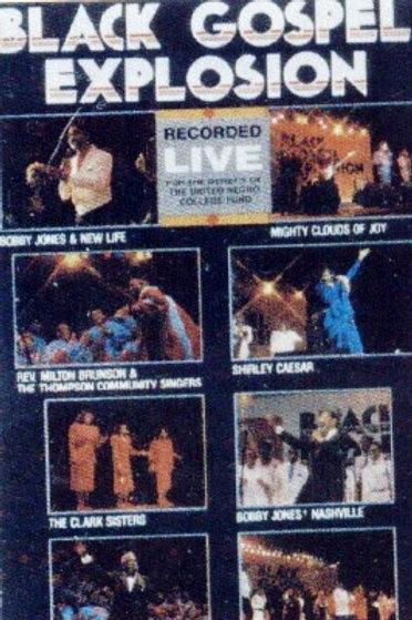 Black Gospel Explosion-CASSETTE