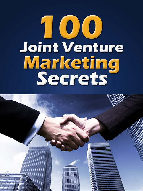 100JointVentureMarketingSecrets
