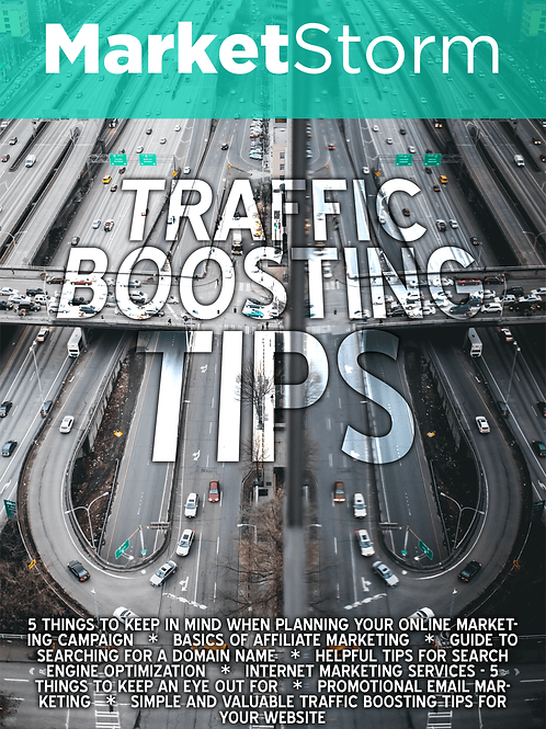 TRAFFIC BOOSTING TIPS