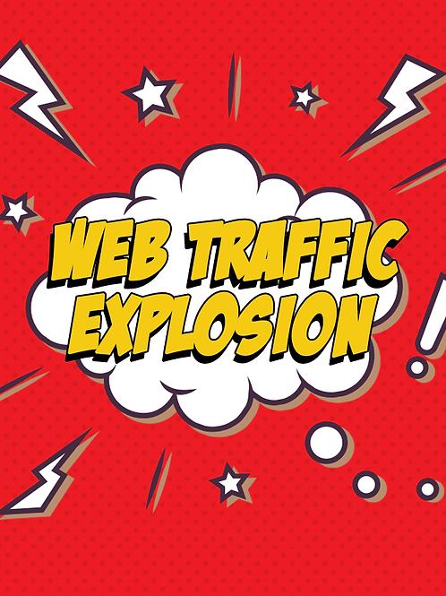 Web Traffic Explosion.
