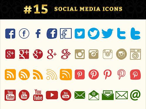 Module 15 - Social Media Icons