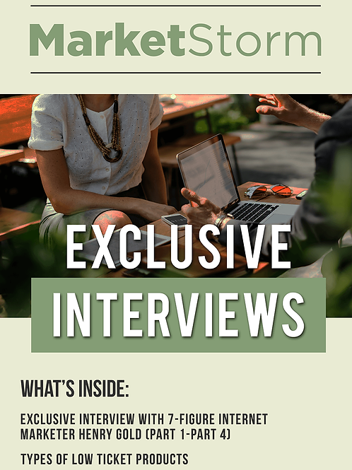 EXCLUSIVE INTERVIEWS