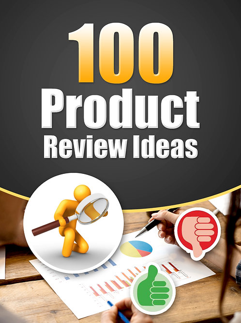 100ProductReviewIdeas
