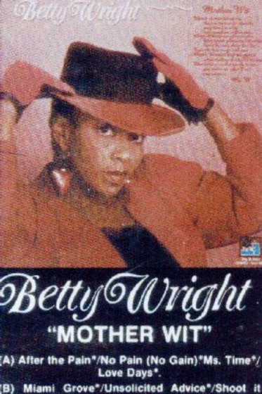 """Betty Wright """"Mother Wit""""-CASSETTE"""
