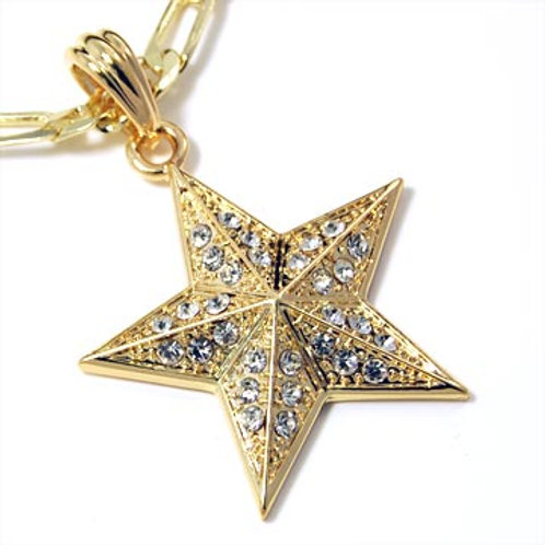 ICED TEXTURED STAR