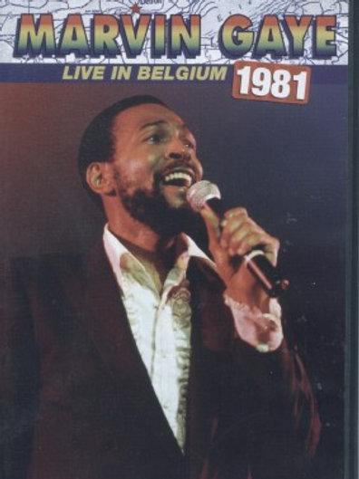 MARVIN GAYE - LIVE IN BELGUIM 1981-DVD