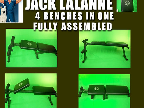 JACK LALANNE 4 IN 1 WORK OUT BENCH