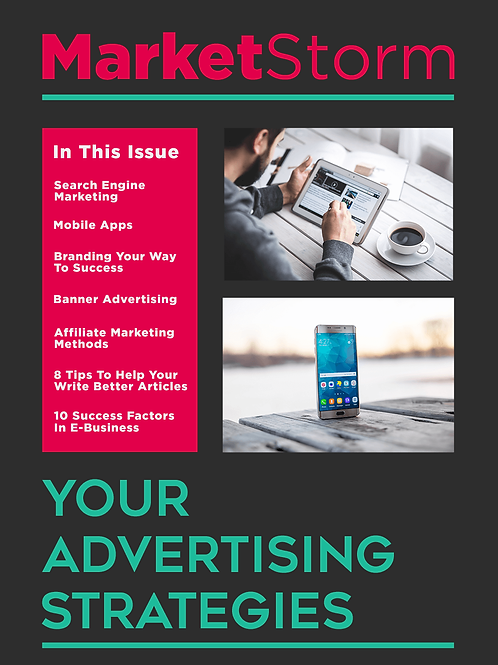YOUR ADVERTISING STRATEGIES
