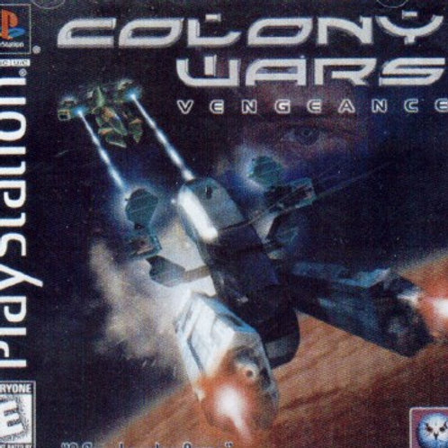 Colony Wars (Playstation 1 Game)
