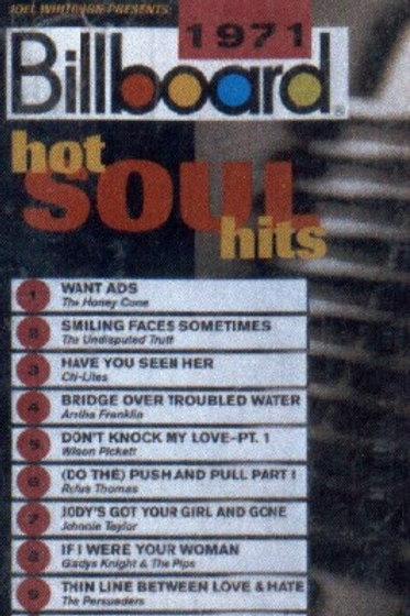 1971 Billboard Hot Soul Hits-CASSETTE