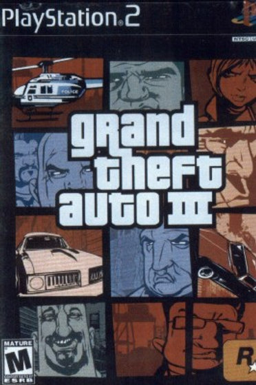 Grand Theft Auto III ( Playstation 2 Game)