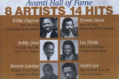 Avanti Hall of Fame 8 Artist,14 Hits