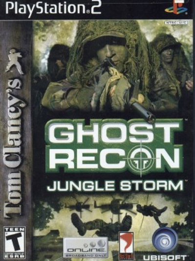 Ghost Recon, Jungle Storm (Playstation 2 game)