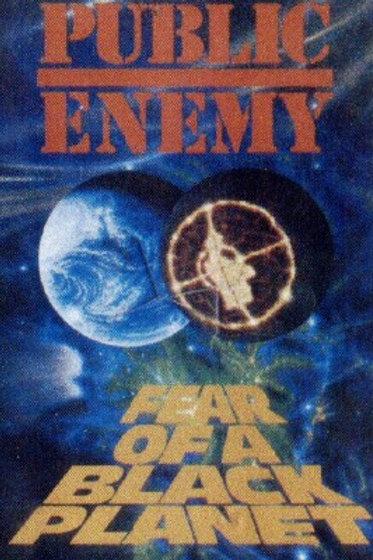 Public Enemy Fear of a black planet- CASSETTE