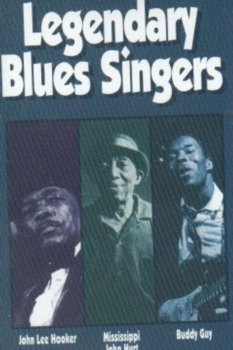 Legendary Blues Singers-CASSETTE