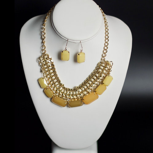 QUEEN HAILEMAH SAND OF TIME NECKLACE SET