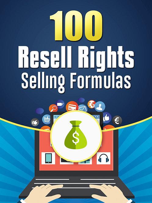 100ResellRightsSellingFormulas