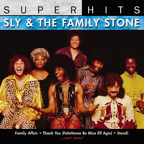 SLY AND THE FAMILY STONE - SUPER HITS
