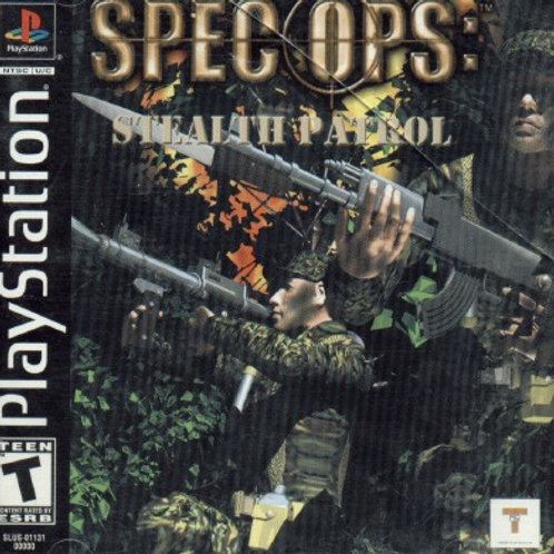 Spec Ops (Playstation 1 game)