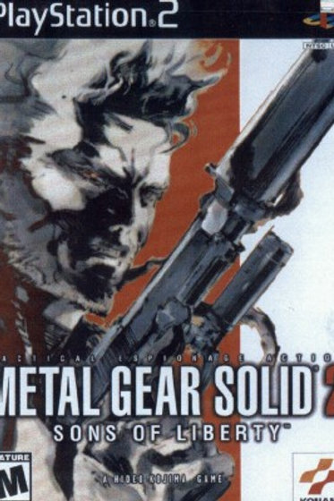 Metal Gear Solid 2 Son's of Liberty