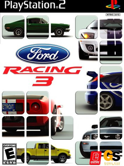 FORD RACING 3 PS 2