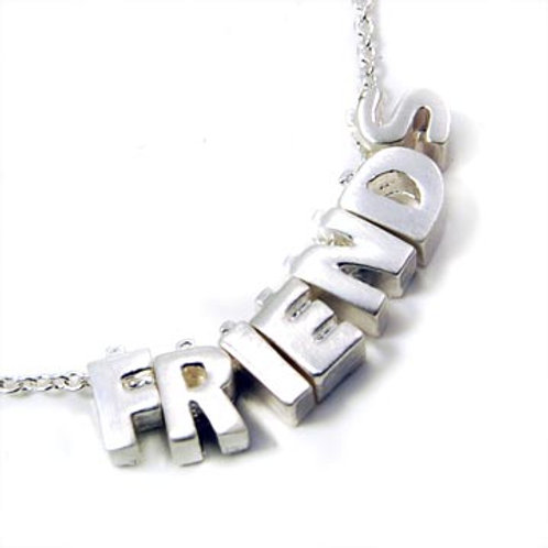 PRECIOUS NECKLACE - FRIENDS-SILVER