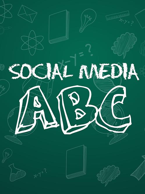 Social Media A B C.