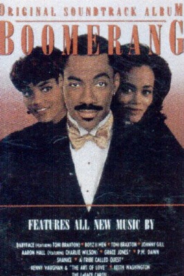 BOOMERANG (Movie Soundtrack)-CASSETTE