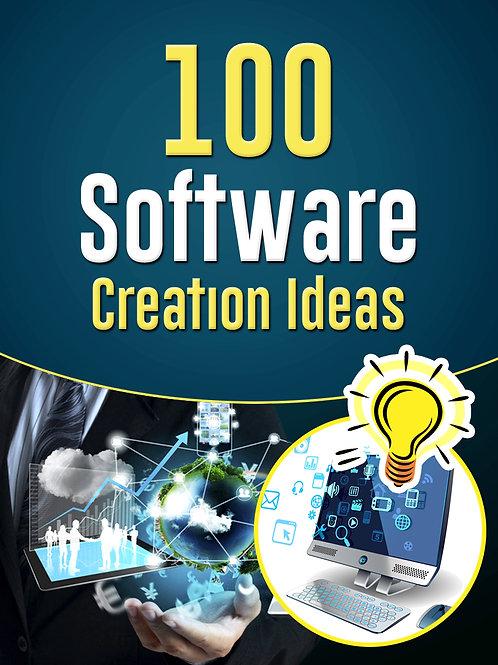 100SoftwareCreationIdeas