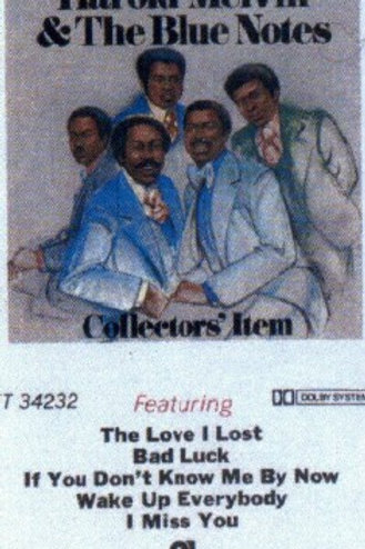 Harold Melvin & The Blue Notes- CASSETTE