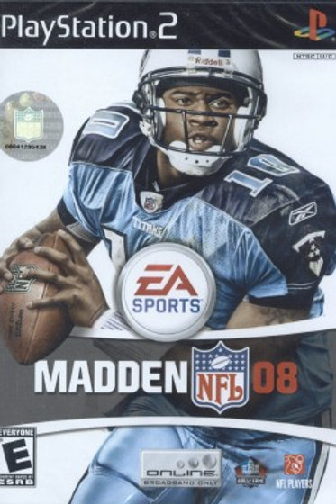 MADDEN NFL 08-PS2 GAME