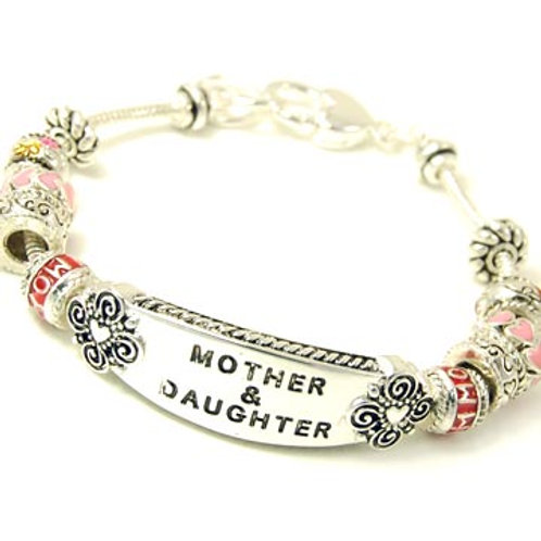 "Mother and Daughter"" Bracelet"